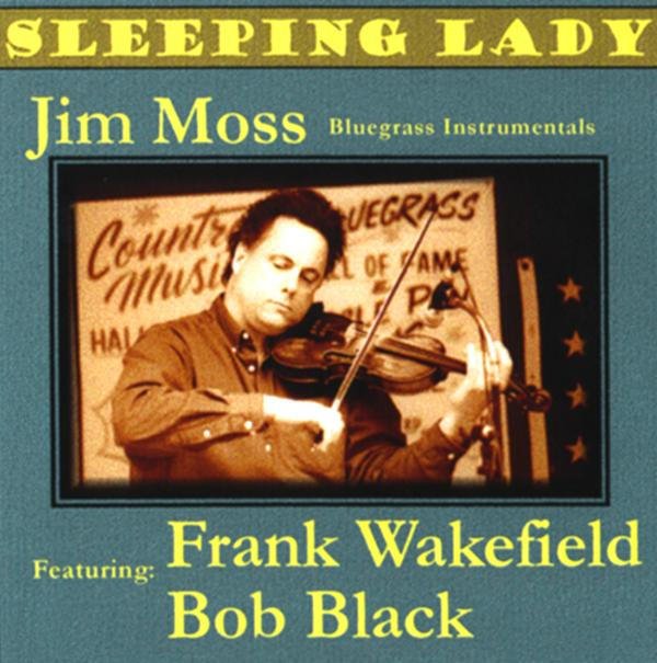 Jim Moss Sleeping Lady CD Front