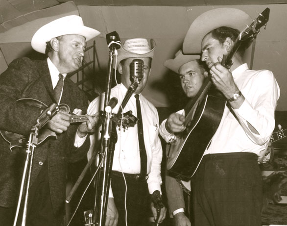 Bill Monroe photo courtesy of
